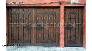 درب طرح سنتی و قدیمی کد درب 1085