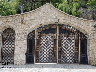 درب پارکینگ درب ورودی درب کد 1351