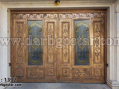 درب پارکینگ لوکس کد درب 1392