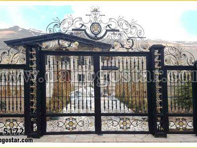 درب های بزرگ و عظیم برای ویلا کد درب 5172