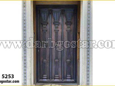 درب ورودی ساختمان در ورودی کد 5253