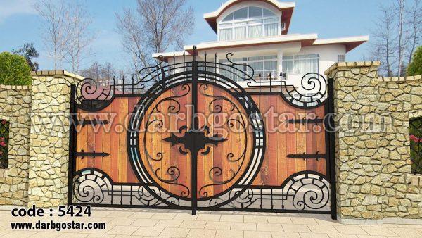 درب ویلایی درب خاص (درب گستر) کد درب 5424