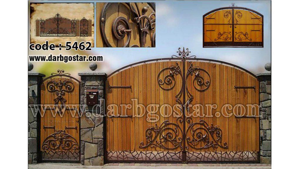 درب های مدرن درب گستر کد درب 5462