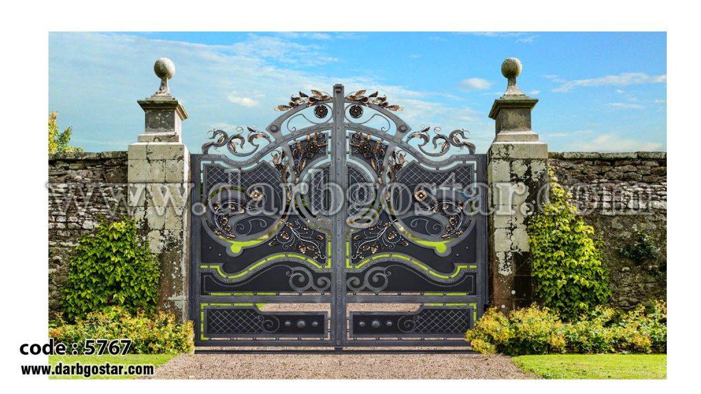 درب ویلا - درب ساختمان ویلایی کد درب 5767