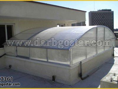 7361 پوشش سقف با پلی کربنات