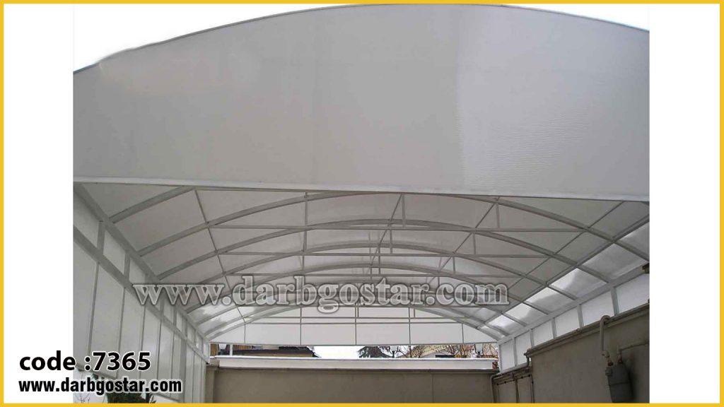 7365 پوشش سقف با پلی کربنات