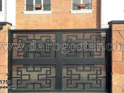 طراحی درب ساختمان کد درب 1750