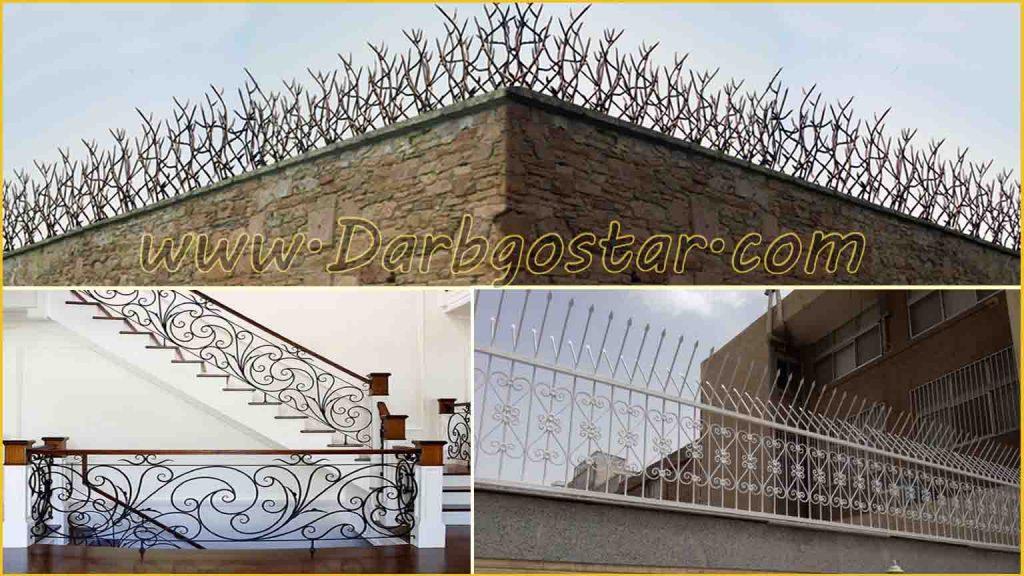 ساخت انواع حفاظ دیوار ، بالکن و پله