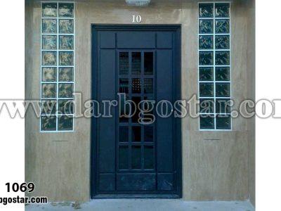 درب عابررو ساختمان کد درب 1069