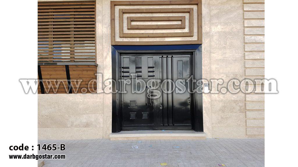 1465-B درب ساختمان مدرن