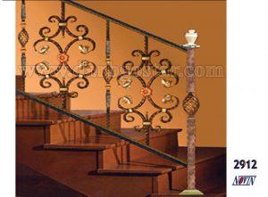 حفاظ راه پله فرفورژه - کد 2912