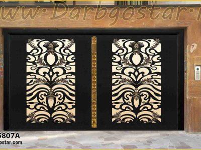 5807A درب مدرن درب حیاط