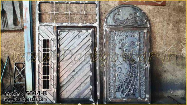 5634-B درب ورودی ساختمان
