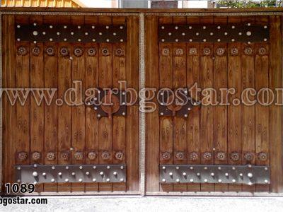 درب طرح سنتی و قدیمی کد درب 1089