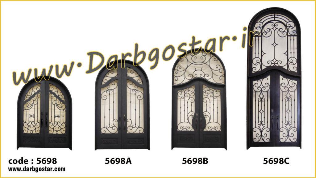 انواع درب ورودی کد درب 5698